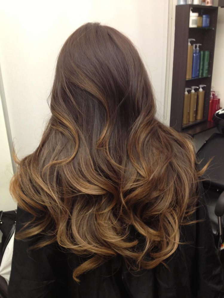 Guy Tang Dyed My Virgin Dark Black Brown Hair To This Ombre Ash Brown Color