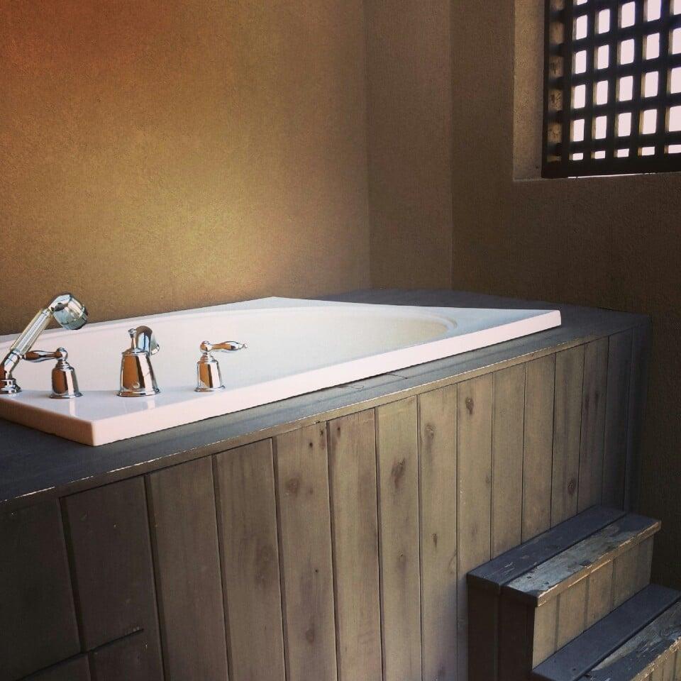 One Bedroom Corner King Suite balcony Moon-soaker tub - Yelp