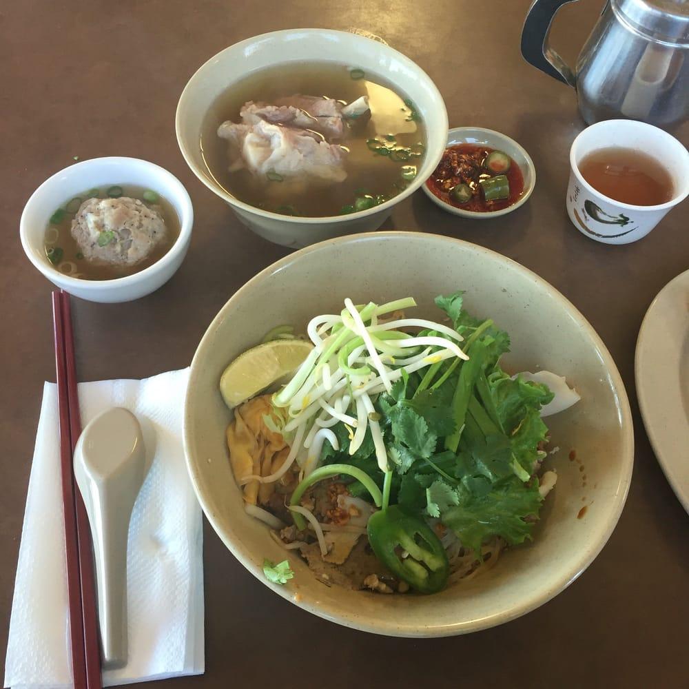 #1 Hu Tieu Trieu Chau (dry)