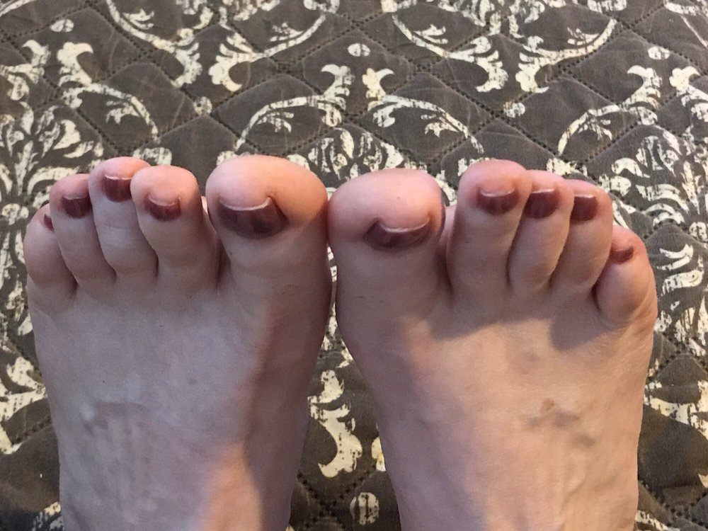 Didn\'t paint tops of toenails with color - Yelp