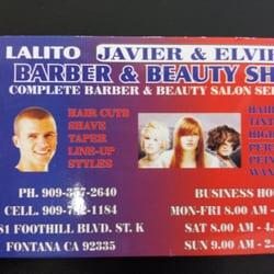 Javier elviras barber shop barbers 17480 arrow blvd fontana photo of javier elviras barber shop fontana ca united states business reheart Images