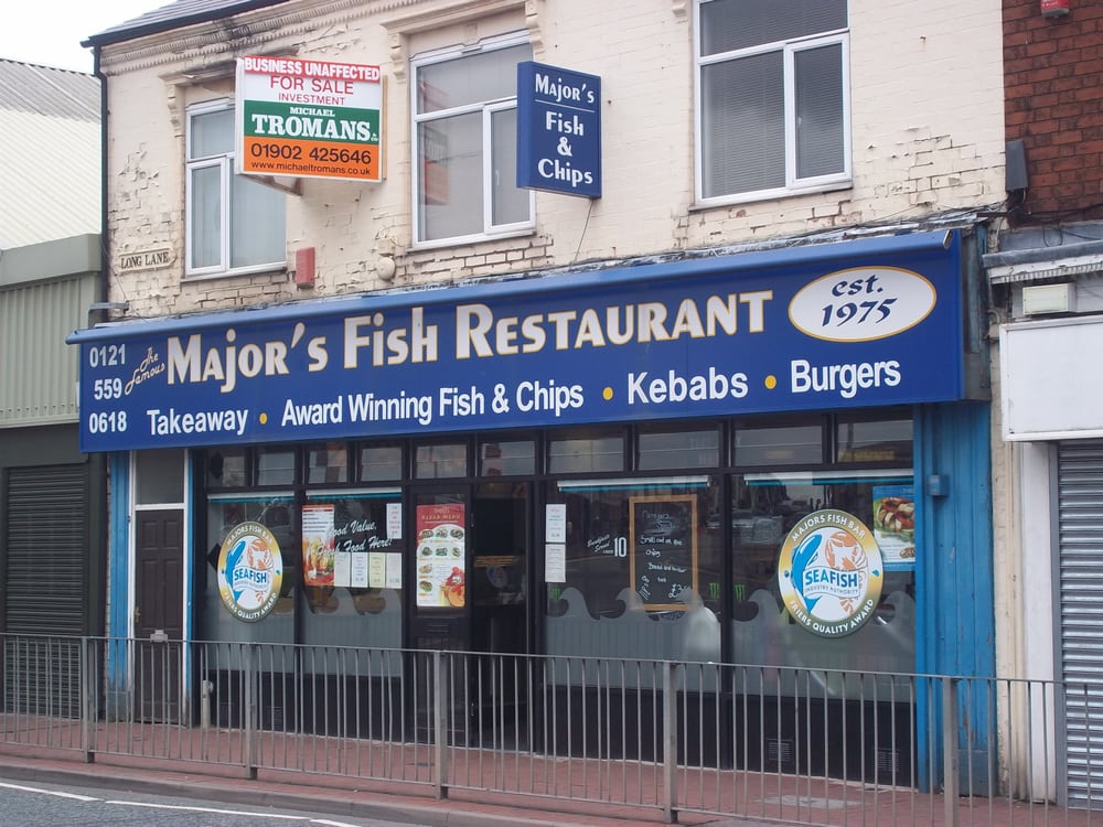 Major s fish restaurant fast food 1 2 long lane for Fast food fish restaurants