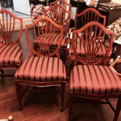Photo Of Elegant Designs   Burbank, CA, United States. Original Chipndale  Chairs Restored ...