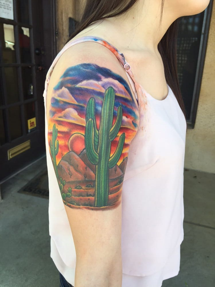 Arizona sunset by mark walters yelp for Living canvas tattoo tempe