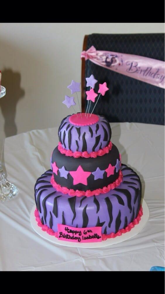 My Daughters 6th Birthday Cake Yelp