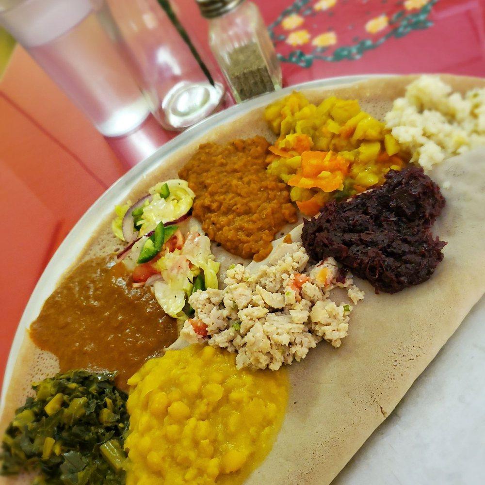 Meskerem Ethiopian Restaurant: 225 S 45th St, Philadelphia, PA