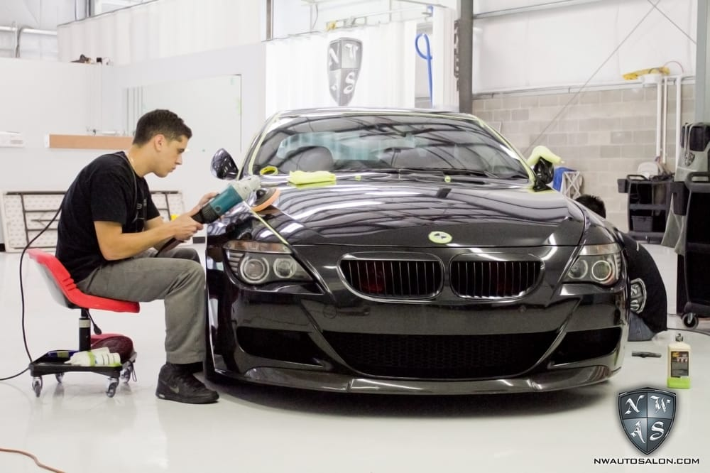 Car Detail Shop >> 3 Way Polishing Job Yelp