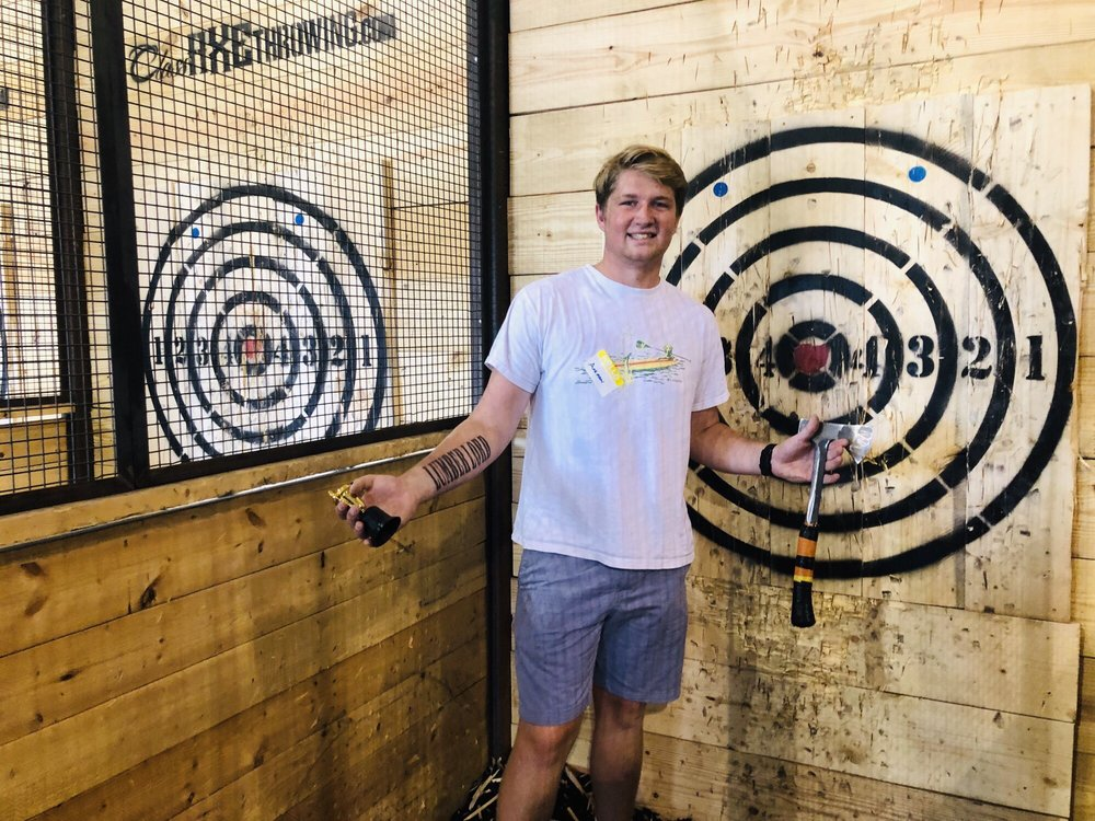 Class Axe Throwing: 4814 Peter Pl, West Chester, OH
