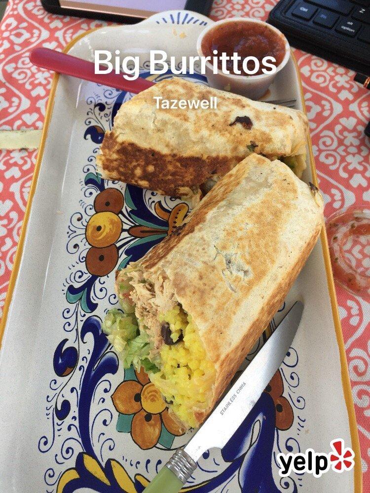 Big Burrittos: 104 Carline Ave, Tazewell, VA