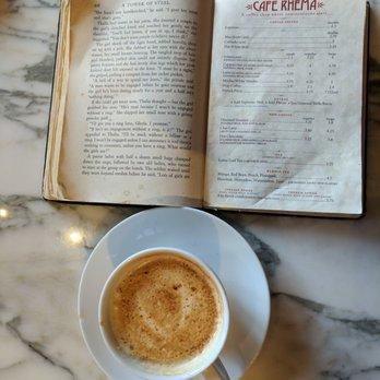 Cafe Rhema Menu