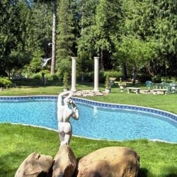 Photo Of Arcadia Getaway Shelton Wa United States Grecian Designed Swimming