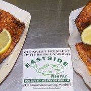 Eastside fish fry grill order food online 98 photos for Fresh fish lansing mi