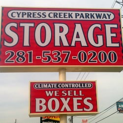 Photo Of Cypress Creek Parkway Storage Houston Tx United States