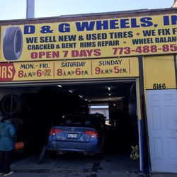 D G Wheels Tires 8146 S Cottage Grove Ave Chatham Chicago