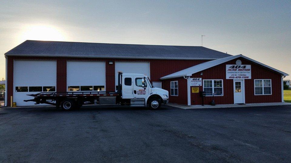 404 Auto Repair: 1109 Industrial Pkwy, Denton, MD