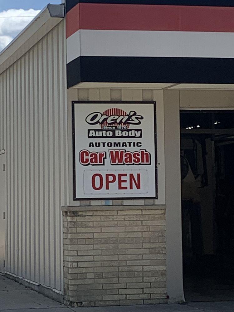 Orens Auto Body & Car Wash: 101 Swift St, Edgerton, WI