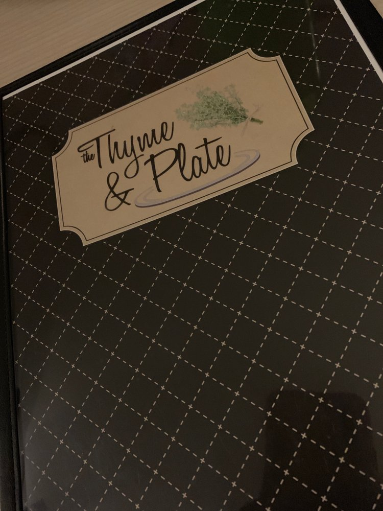 Thyme & Plate: 327 Market Avenue, Grand Forks, BC