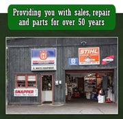 R White Equipment Center: 93 Deerwood Dr, Nashua, NH