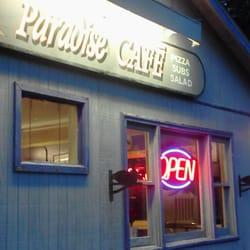 Paradise Cafe Ithaca Menu