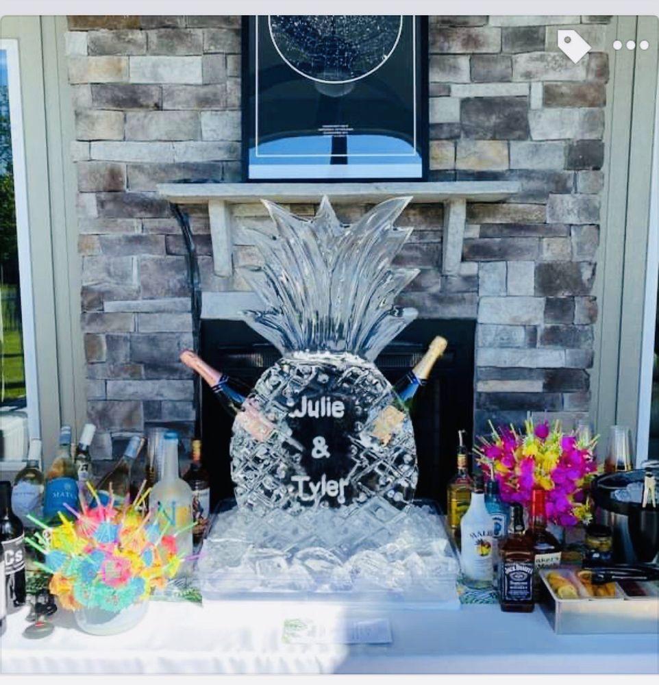 Krystal Creations Ice Art: 13016 Spring Rd, Liberty, MO