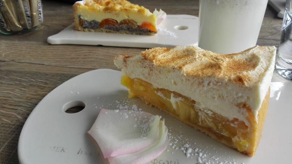 Apfel Schmand Kuchen Und Kase Mohn Yelp