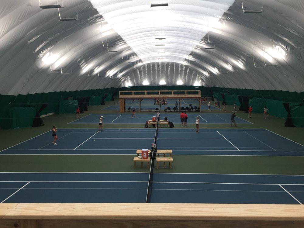 Bloomington Tennis Center: 4101 Wicker, Bloomington, IL