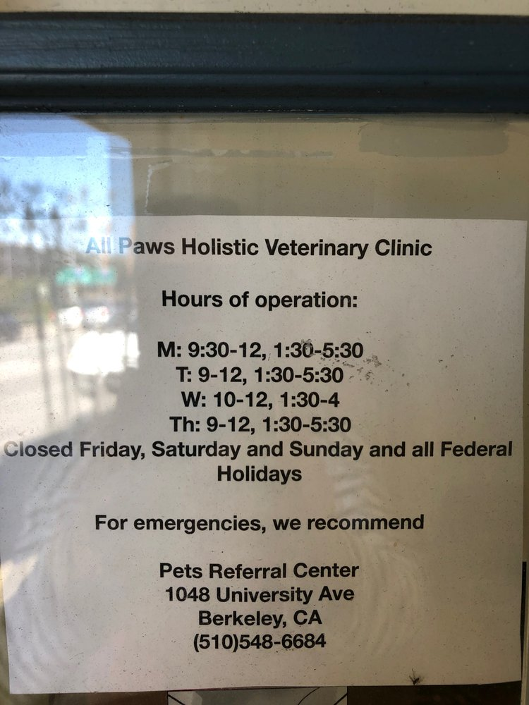All Paws Holistic Veterinarian Clinic
