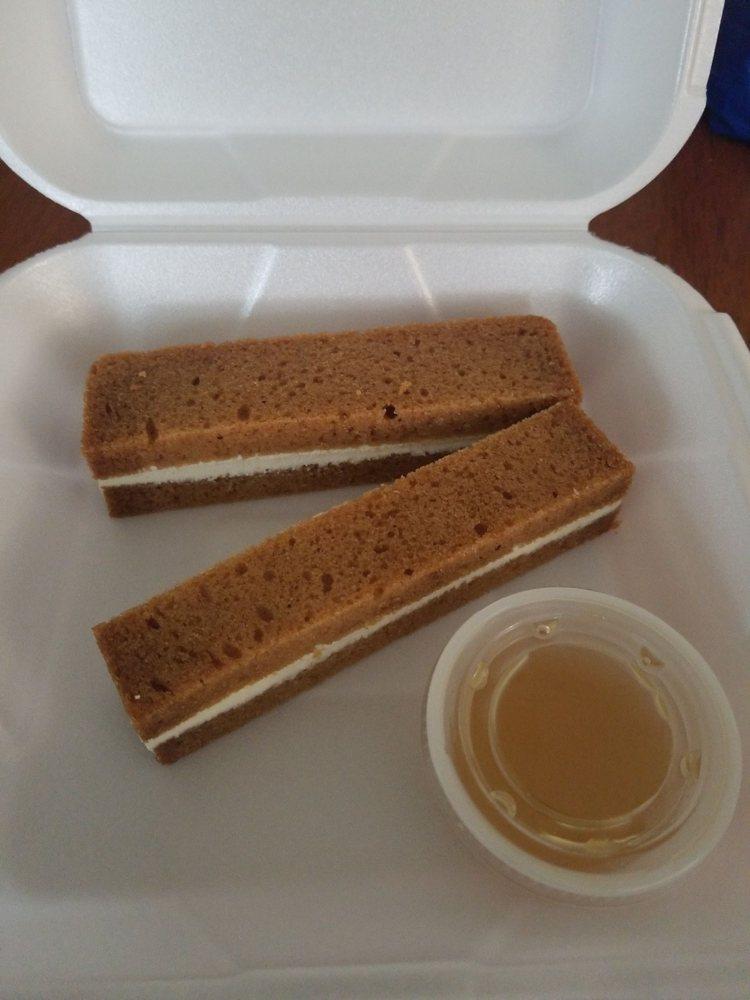 Food from Napoleon's Restaurant