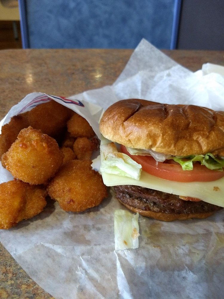 Tom's Drive In: 1395 W American Dr, Neenah, WI