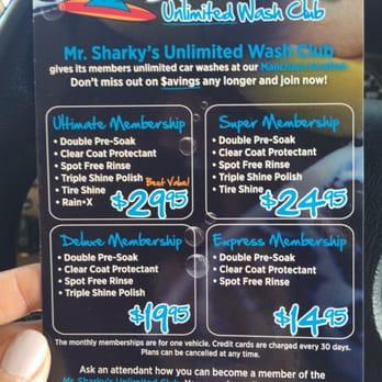 Mr Sharky S Car Wash Austin Tx