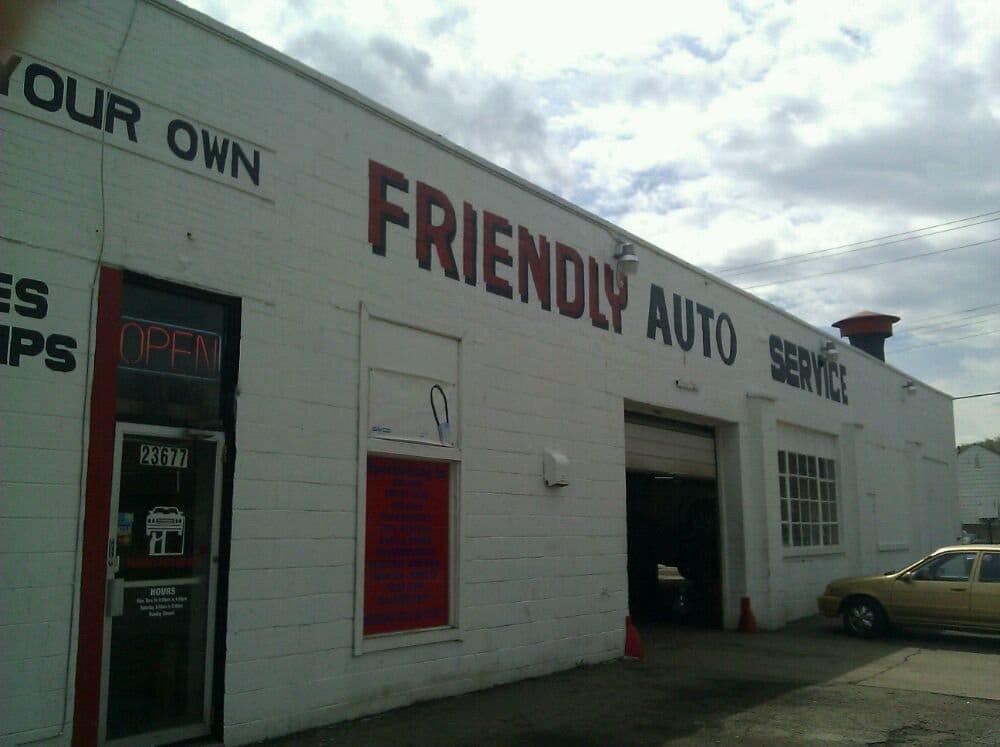 Friendly Auto Service: 23677 Van Dyke Ave, Warren, MI