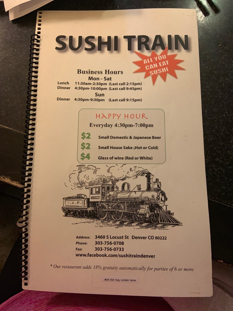 Sushi Train - Order Food Online - 204 Photos & 301 Reviews