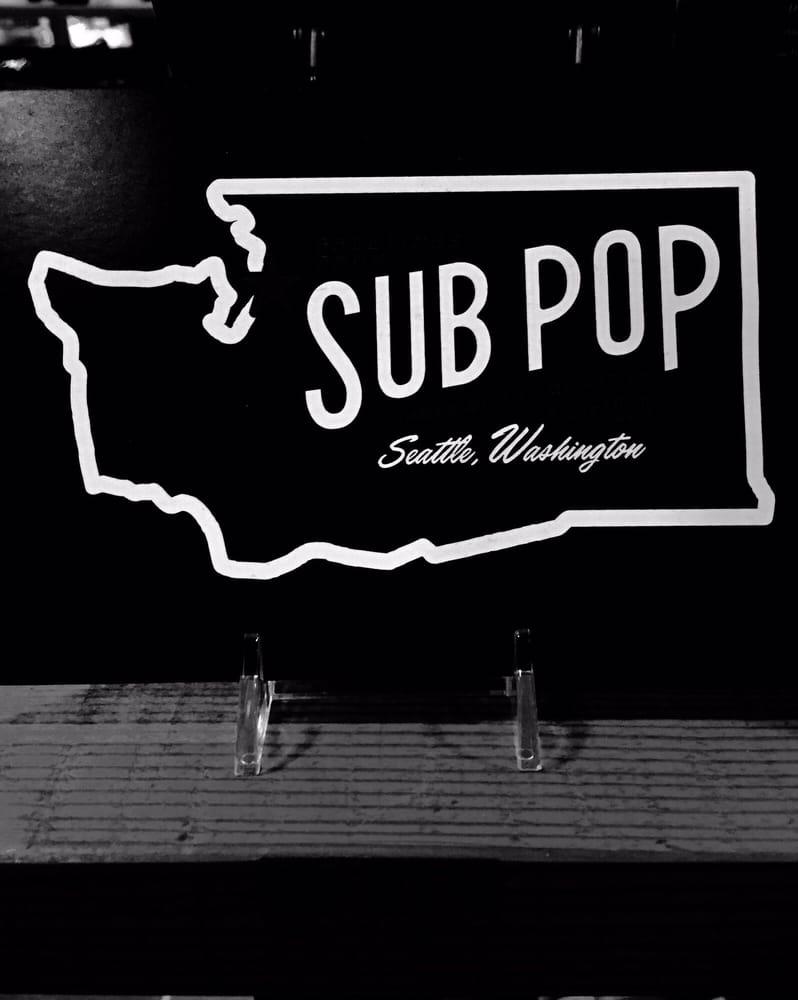 Sub Pop Records: 2013 4th Ave, Seattle, WA