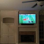 Tv Mount Photo Of Wsc Home Audio Video Chesapeake Va United States
