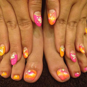 Leafa nails by yoko 605 photos 34 reviews nail technicians photo of leafa nails by yoko los angeles ca united states prinsesfo Images