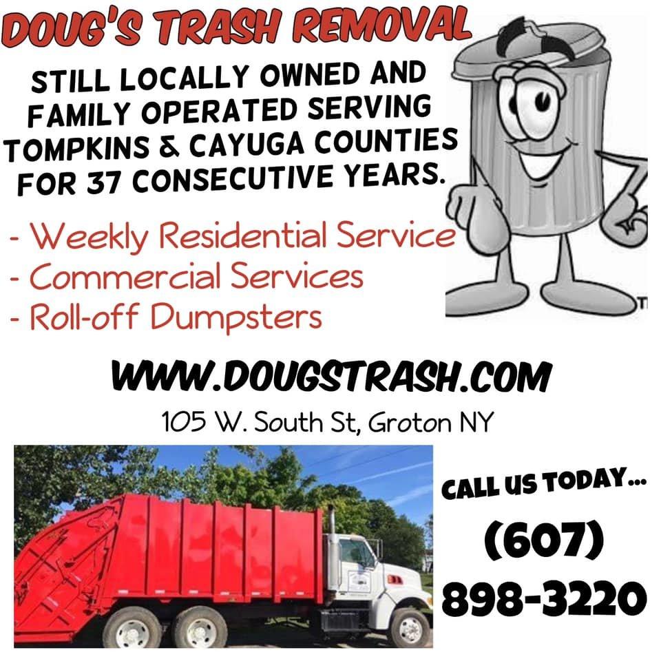 Dougs Trash Removal: 105 W South St, Groton, NY