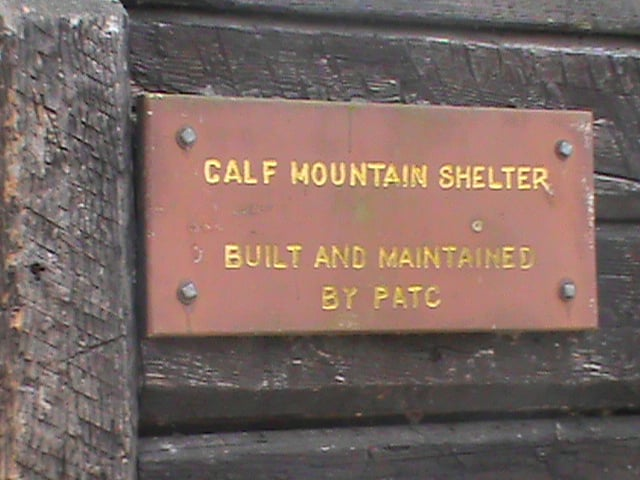 Calf Mountain Shelter: Appalachian Trl, VA, VA