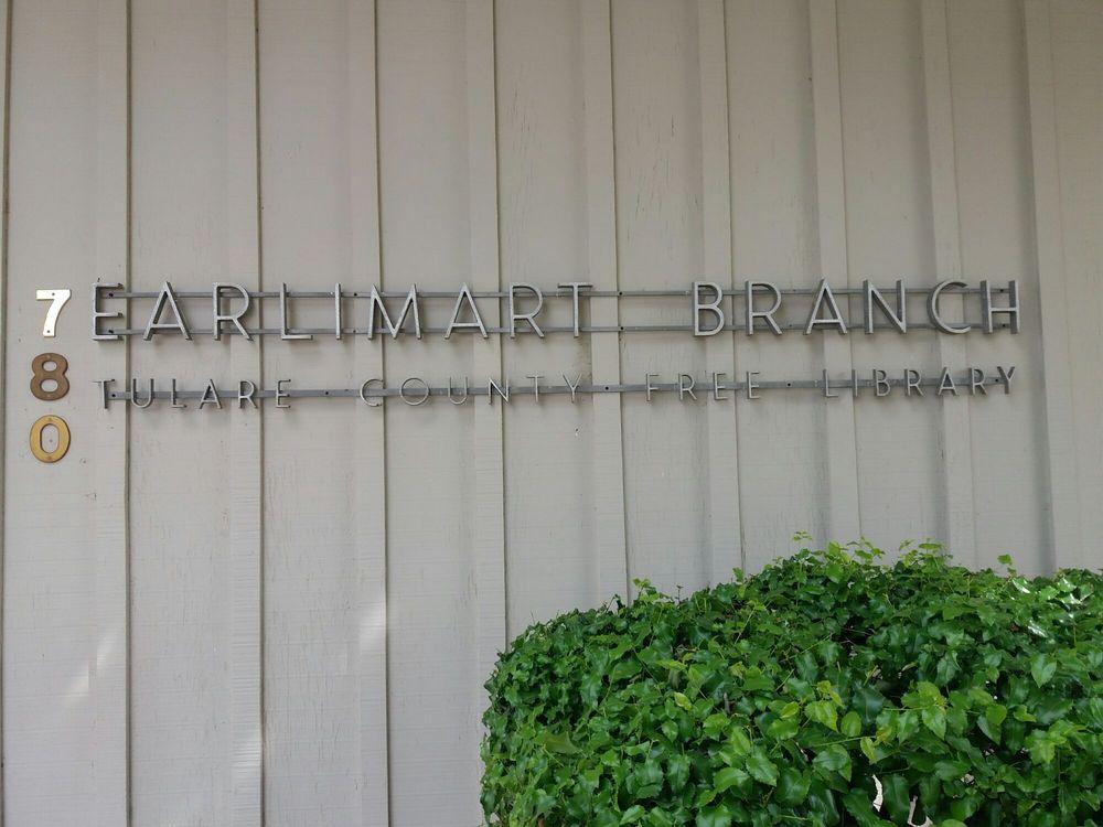 The Earlimart Library: 780 E Washington Ave, Earlimart, CA