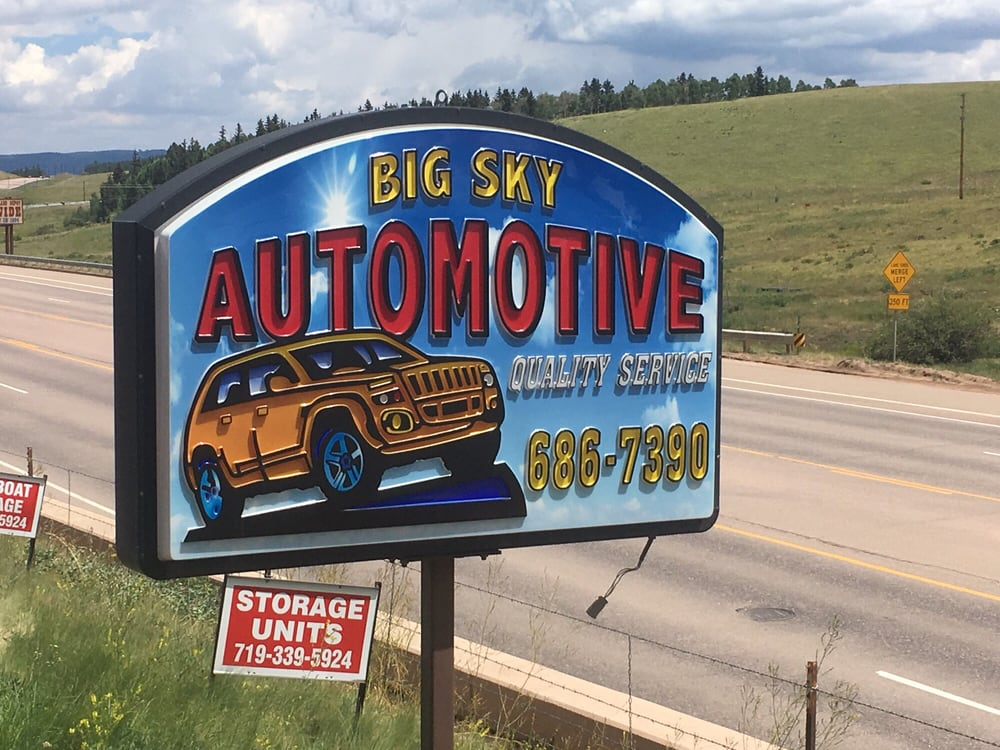 Big Sky Automotive: 11505 US Highway 24, Divide, CO