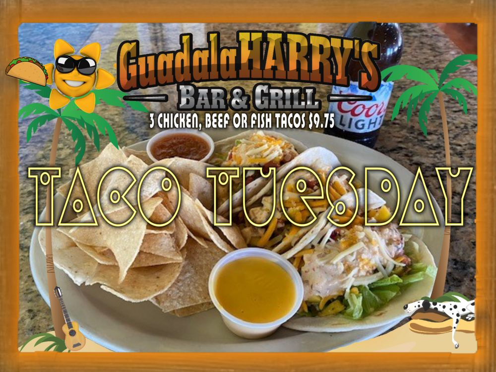 Guadalaharry's Bar & Grill: 12947 Lake Conroe Hills Dr, Willis, TX