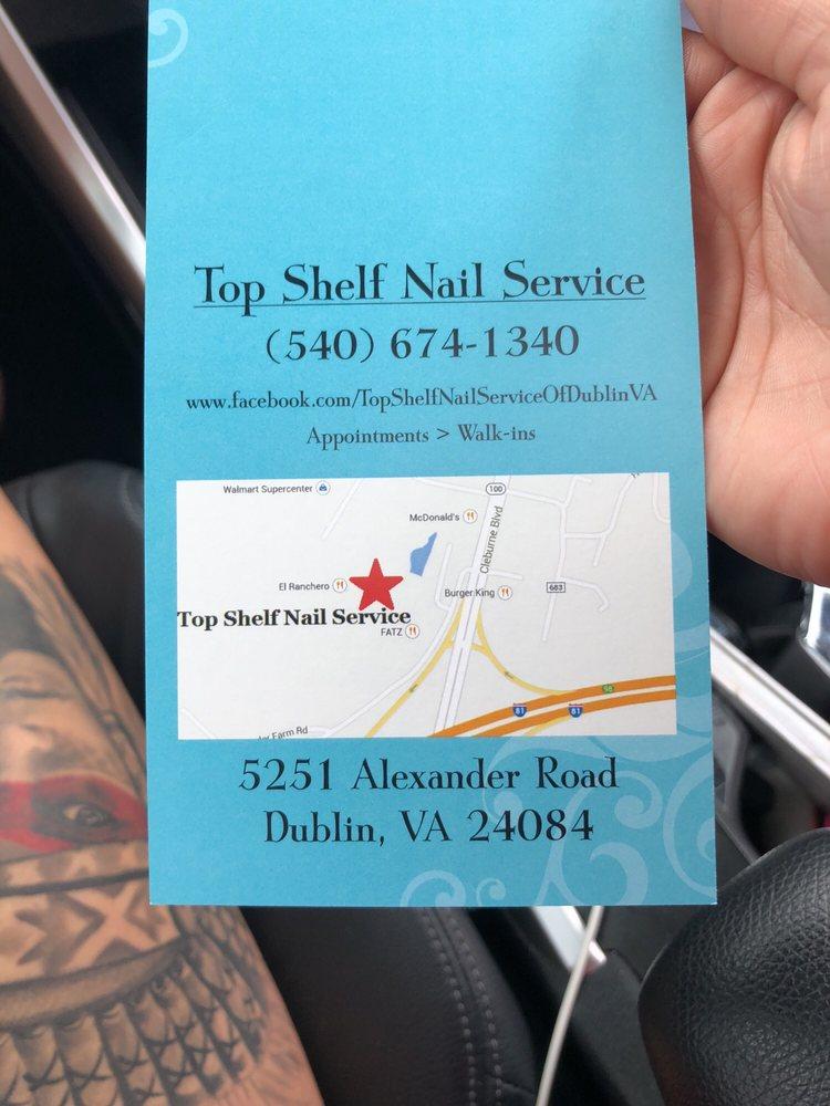 Nail Service: 5251 Alexander Rd, Dublin, VA