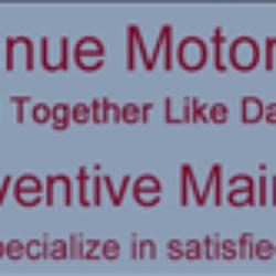 Avenue Motors Auto Parts Supplies 802 Hanover Ave