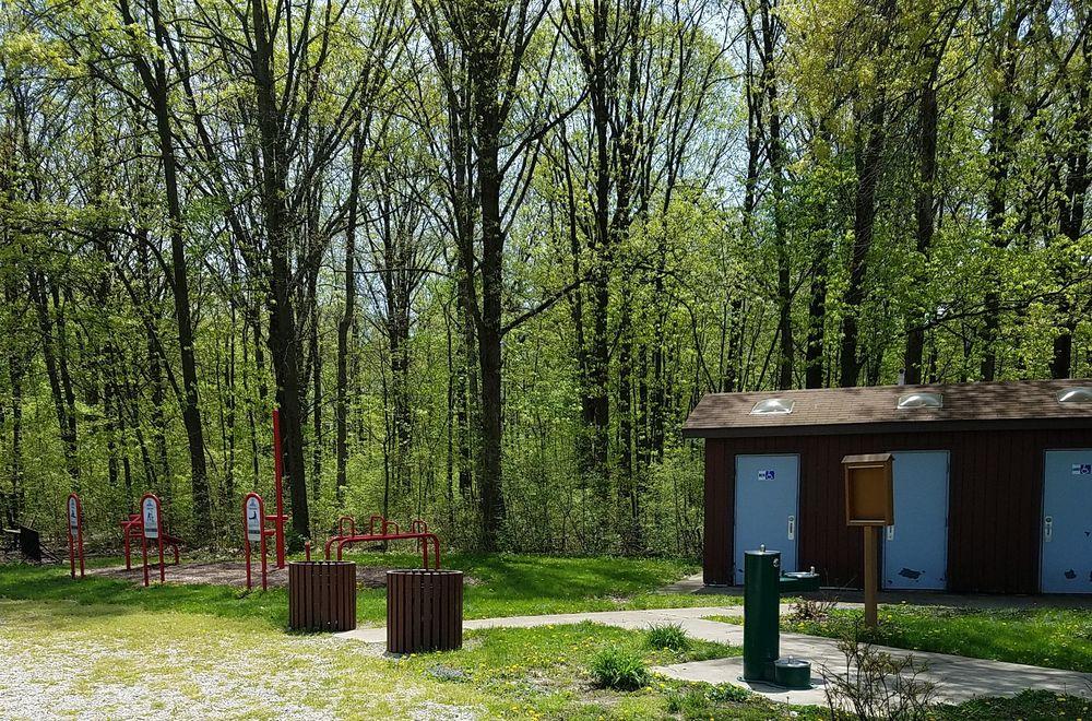 Wilderness Park & Bark Park: 901 S West St, Hartford City, IN