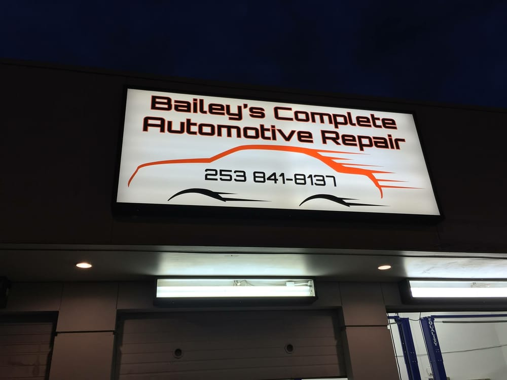 Bailey's Complete Automotive Repair: 12310 Meridian E, Puyallup, WA