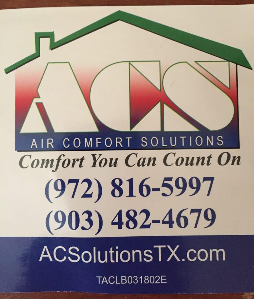 Air Comfort Solutions: 1333 W McDermott, Allen, TX