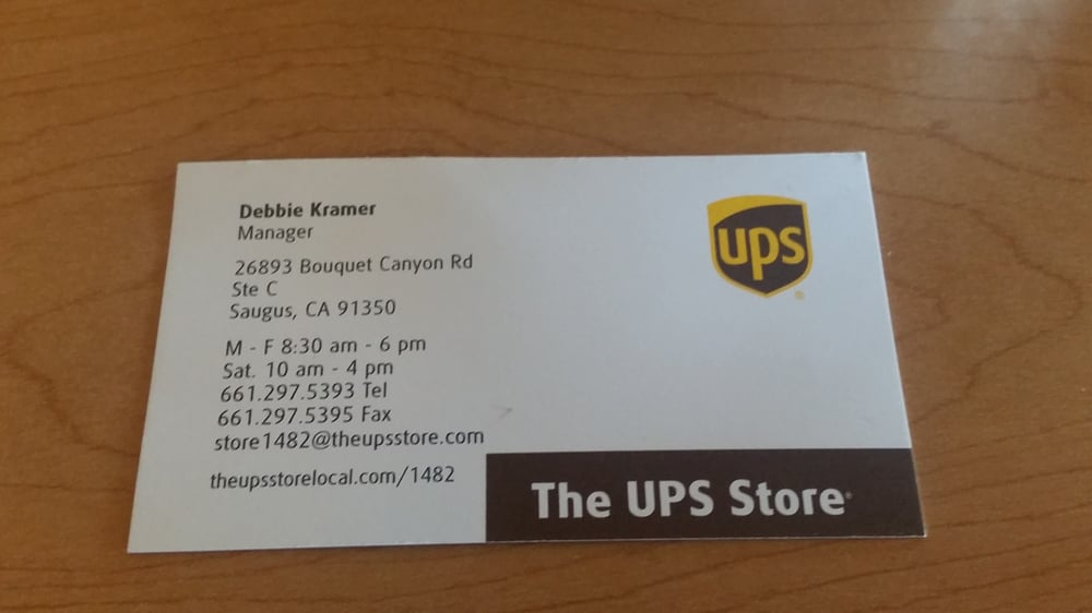 The ups store 15 reviews printing services 26893 bouquet the ups store 15 reviews printing services 26893 bouquet canyon rd saugus ca phone number yelp reheart Image collections