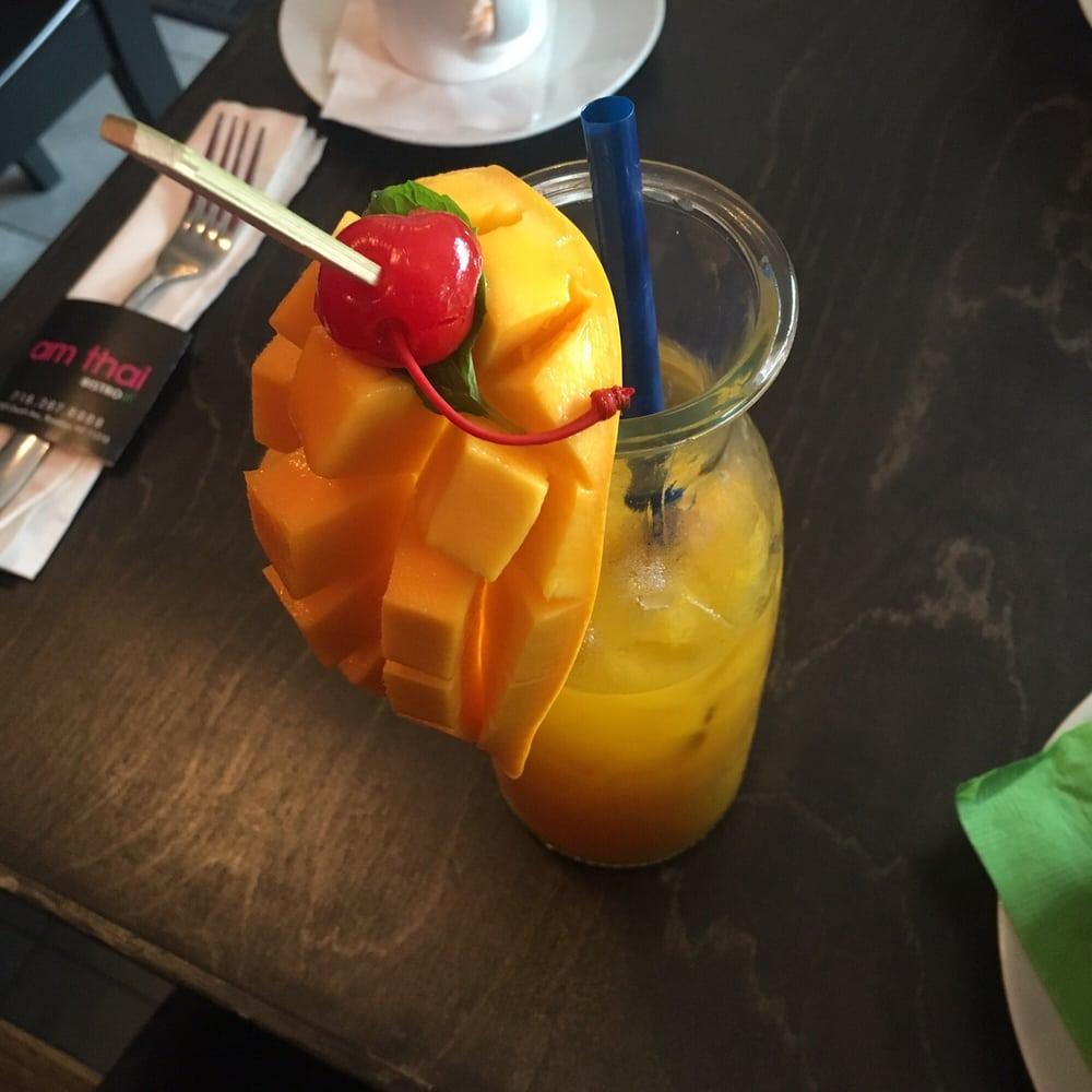 Amazing mango drink , non alcoholic & fizzy . LOVE IT ! - Yelp