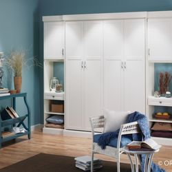 Photo Of Closet Transformations   Sebastopol, CA, United States. Murphy Bed  White Closed