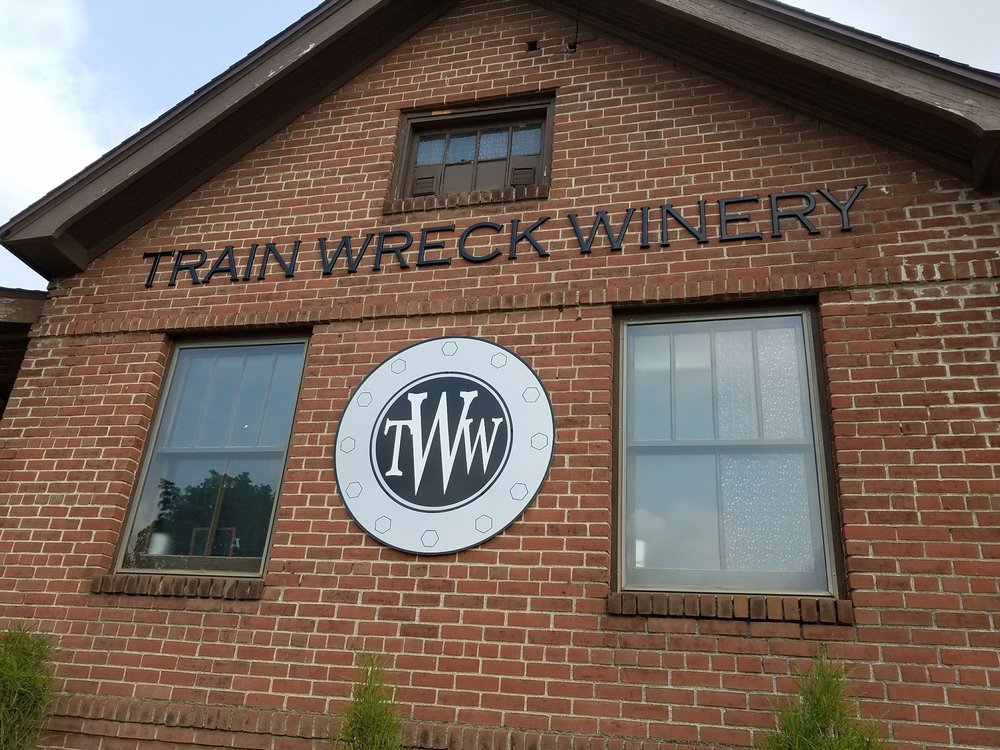 Train Wreck Winery: 112 N Phillips St, Algona, IA