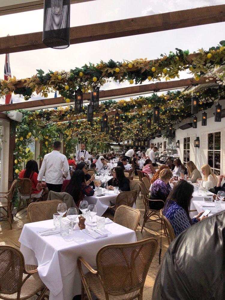 The Roof Deck Restaurant and Bar, Selfridges